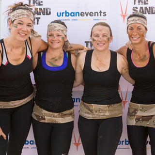 The Sand Pit Obstacle Run In Dubai