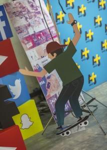 AJ+ Arabi skateboarder